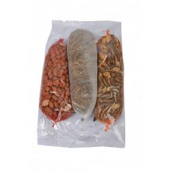 Trio pinda-meelworm-mixnet